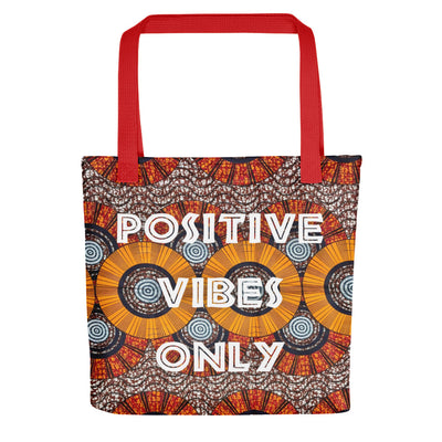 "Tote bag ""Positive Vibes Only - Wax"" - Rootz shop"