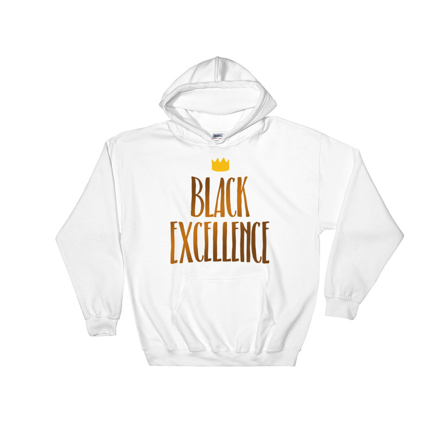"Sweatshirt capuche ""Black Excellence"" - Rootz.shop"