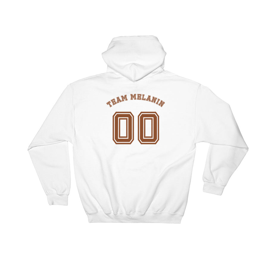 "Sweatshirt capuche ""Team Melanin"" - Rootz shop"
