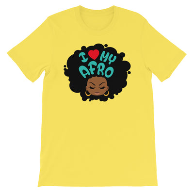 "T-Shirt ""I love my Afro"" - Rootz shop"