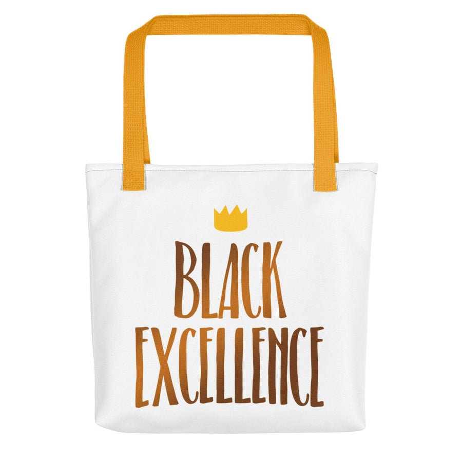 "Tote bag ""Black Excellence"" - Rootz.shop"