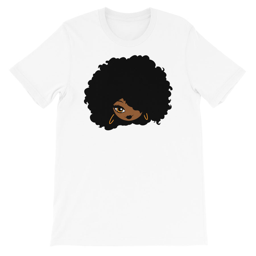 "T-Shirt ""Afro Girl Cartoon"" - Rootz shop"