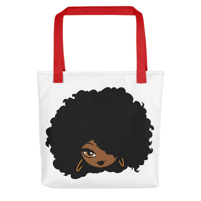 "Tote bag ""Afro Girl Cartoon"" - Rootz shop"