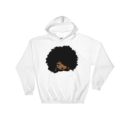 "Sweatshirt capuche ""Afro girl cartoon"" - Rootz shop"