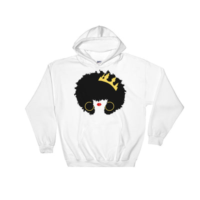 "Sweatshirt capuche ""Queen Afro"" - Rootz.shop"