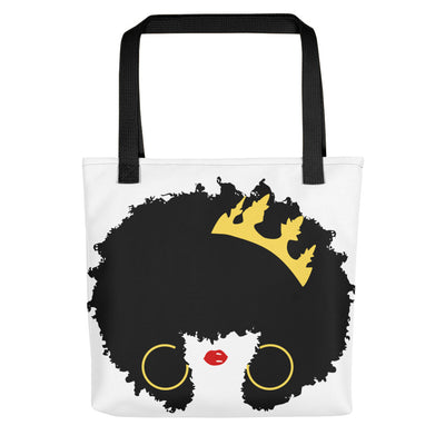 "Tote bag ""Queen Afro"" - Rootz.shop"