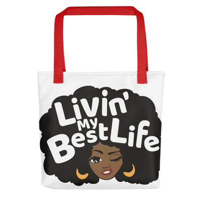 "Tote bag ""Living My Best Life"""
