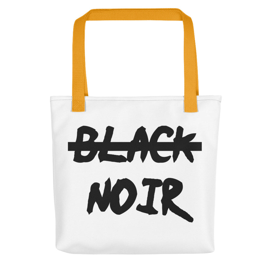 "Tote bag ""Noir, pas black"" - Rootz shop"