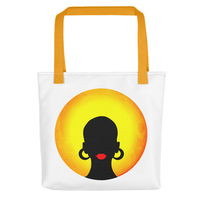 "Tote bag ""Afro Sun"" - Rootz shop"