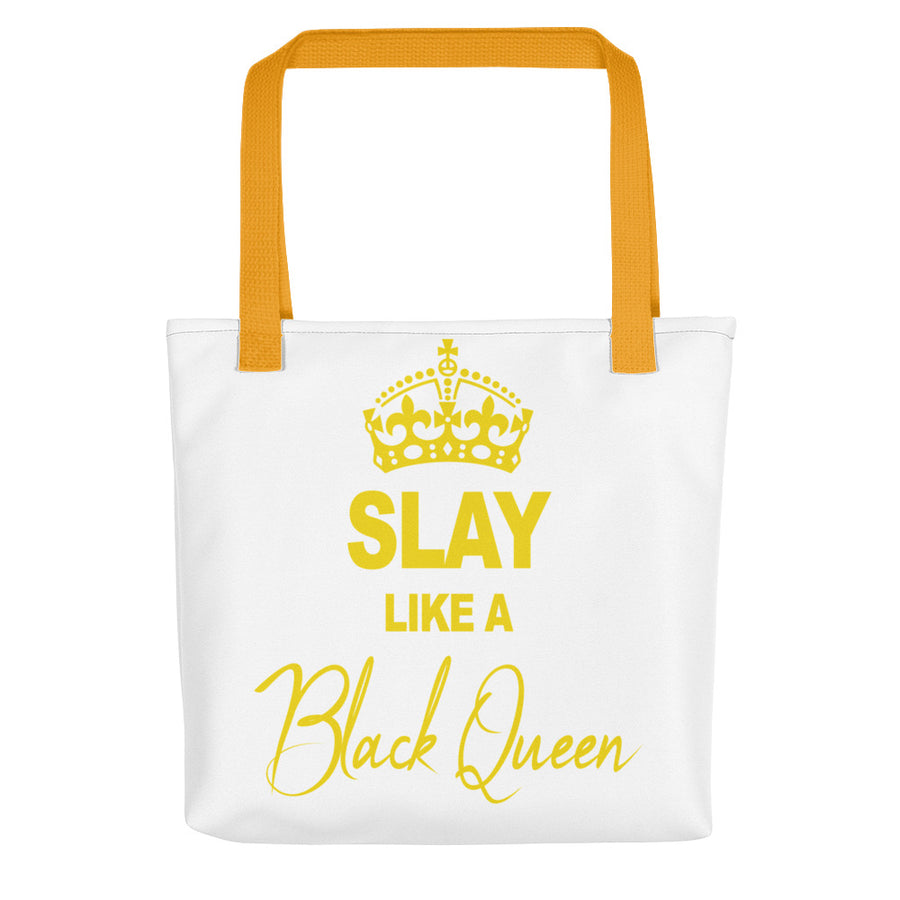 "Tote bag ""Slay like a Black Queen"" - Rootz shop"