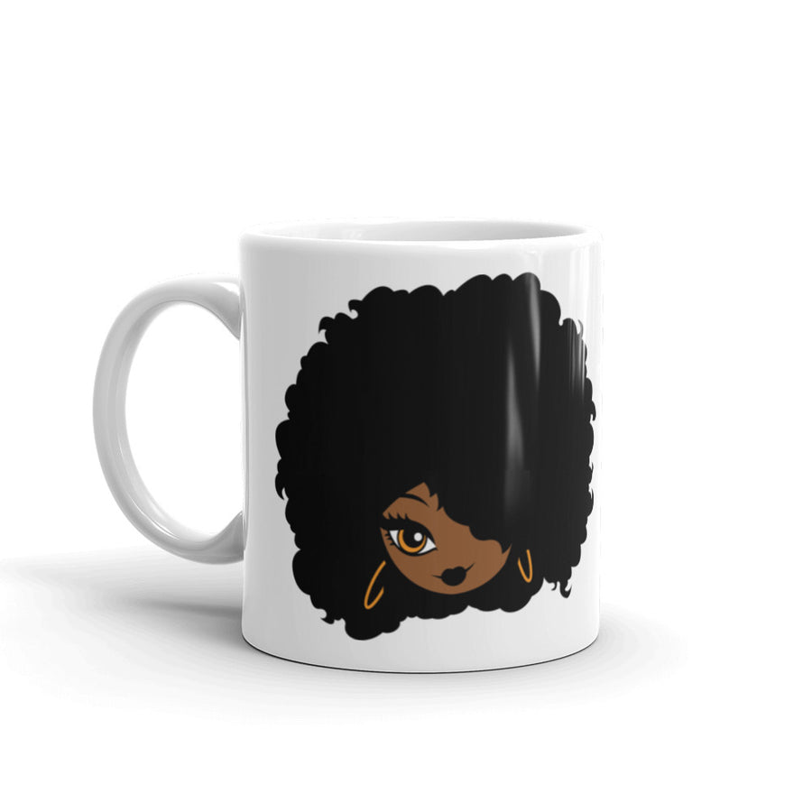 "Mug ""Afro Girl Cartoon"""
