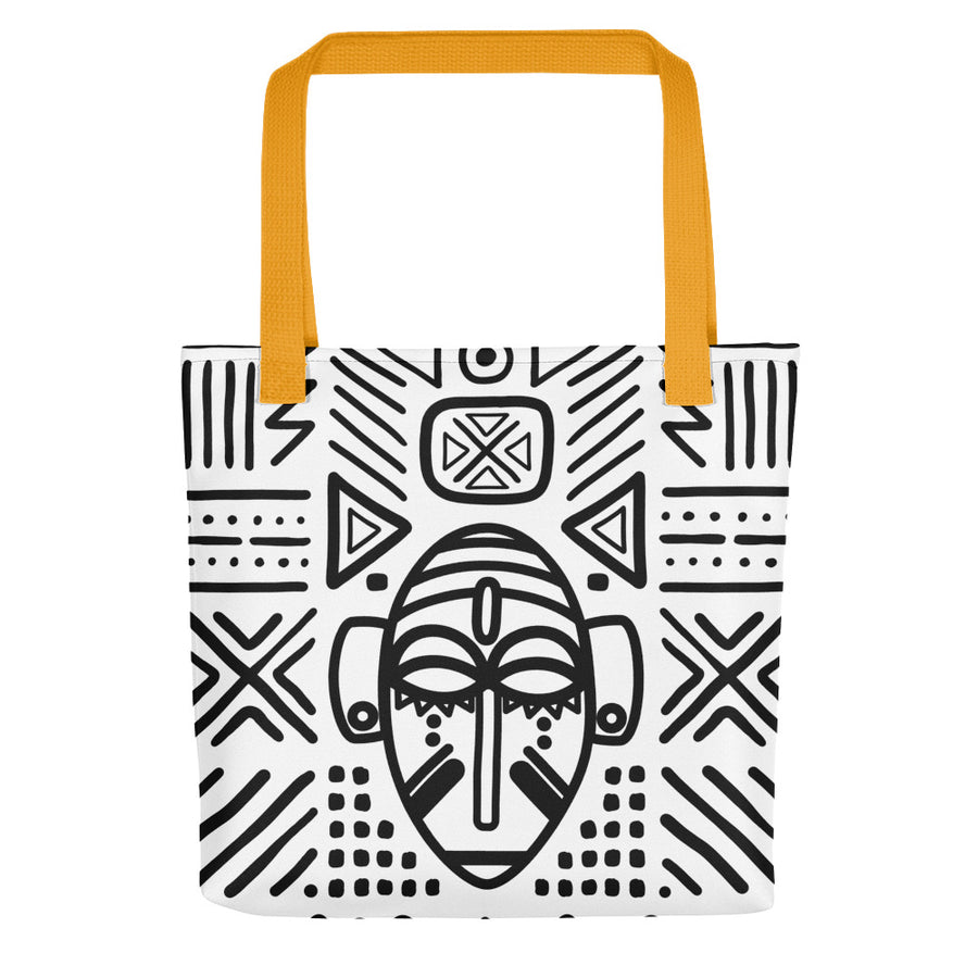 "Tote bag ""Masque Baoulé"""