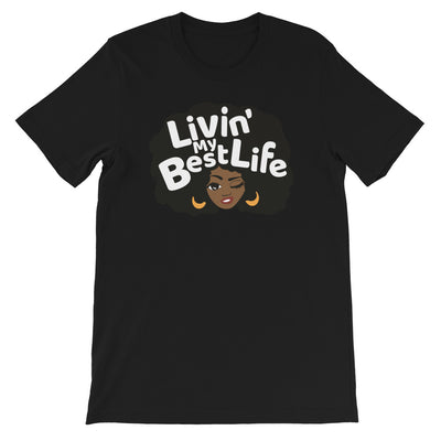 "T-shirt ""Living my best life"""