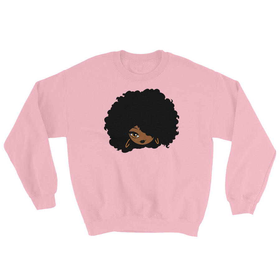 "Pull ""Afro Girl Cartoon"""