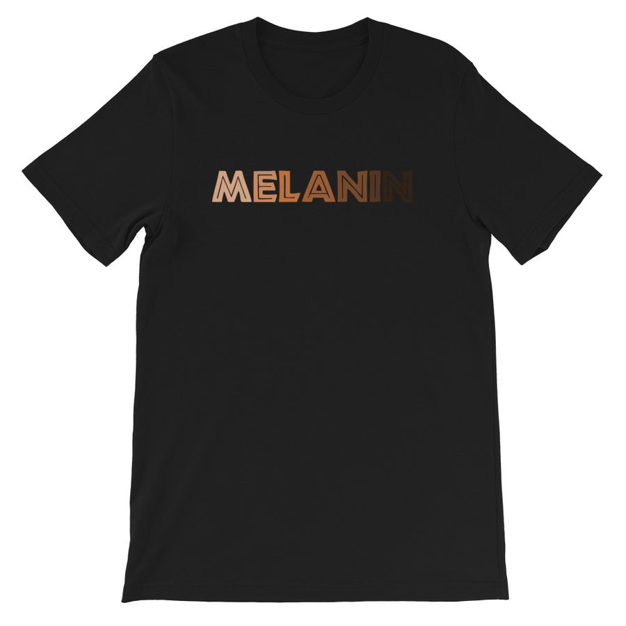 "T-Shirt ""Melanin"" - Rootz shop"