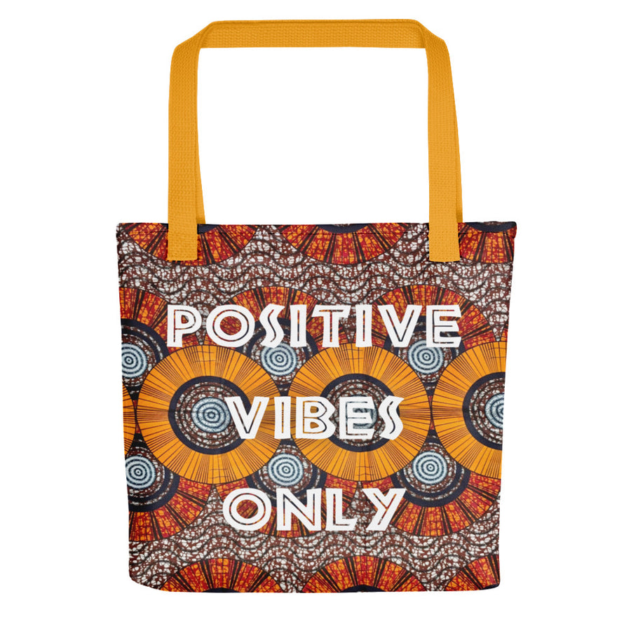 "Tote bag ""Positive Vibes Only - Wax"""