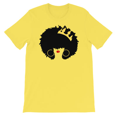 "T-Shirt ""Queen Afro"" - Rootz shop"
