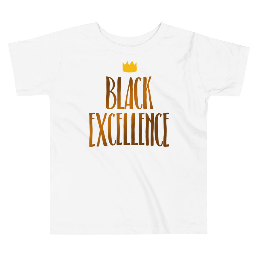 "T-shirt enfant (1-6 ans) ""Black Excellence"""
