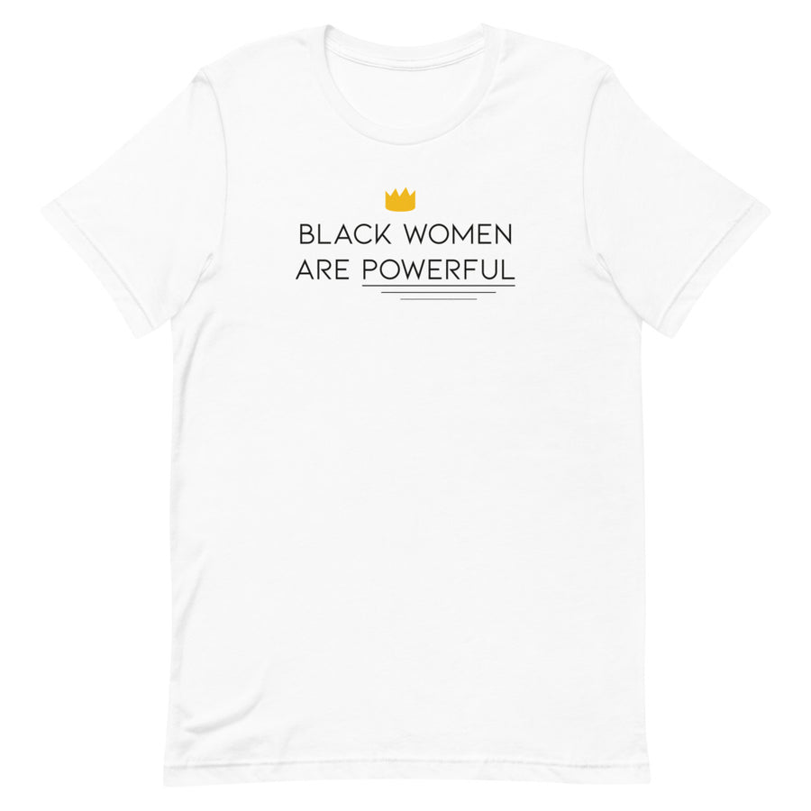"T-Shirt ""Black Women are Powerful"""