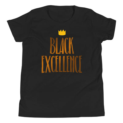"T-shirt enfant (6-12 ans) ""Black excellence"""