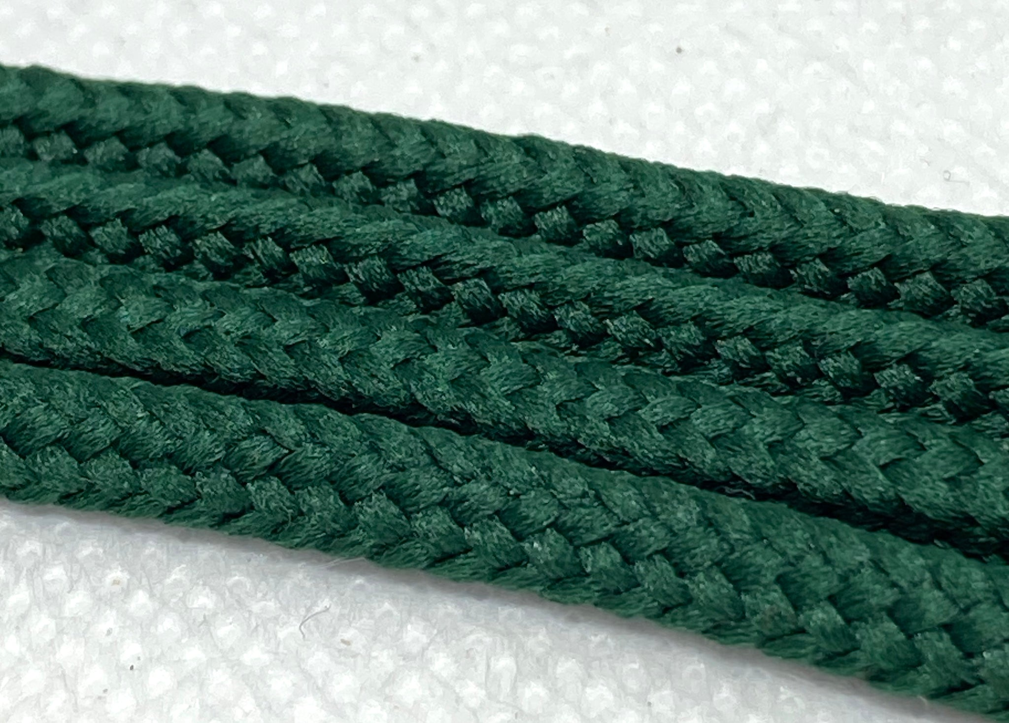 Kelly Green Round Shoelaces
