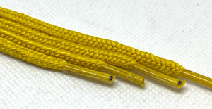 Mustard Yellow Round Shoelaces