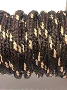 Classic Round Shoelaces Brown w/Toast Accents