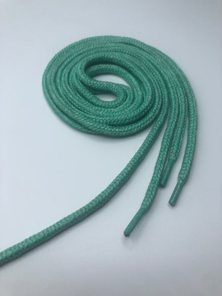 Mint Green Round Shoelaces