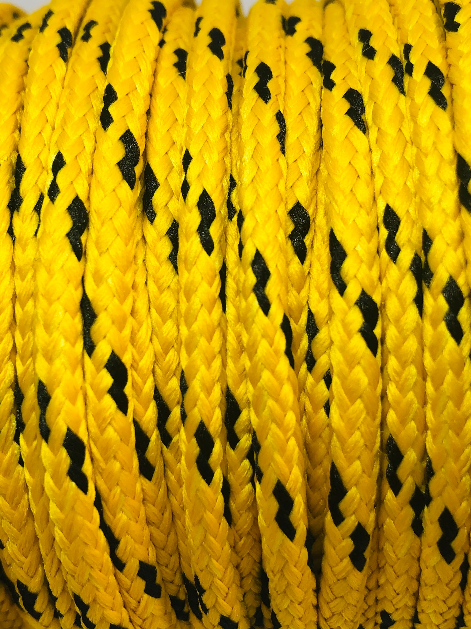 Yellow & Black Round Classic Round Shoelaces