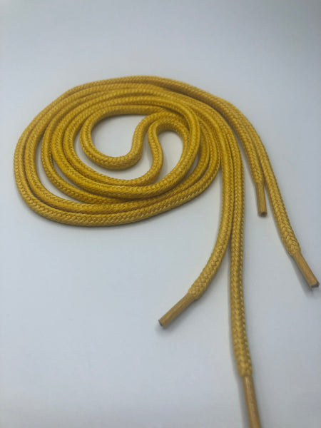 Round Shoelaces - Maize Yellow