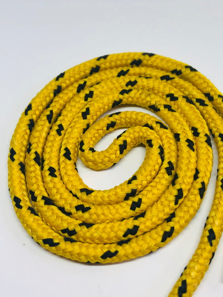 Classic Round Shoelaces Yellow & Black
