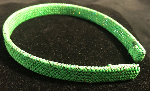 Lime Green Sparkle Headband