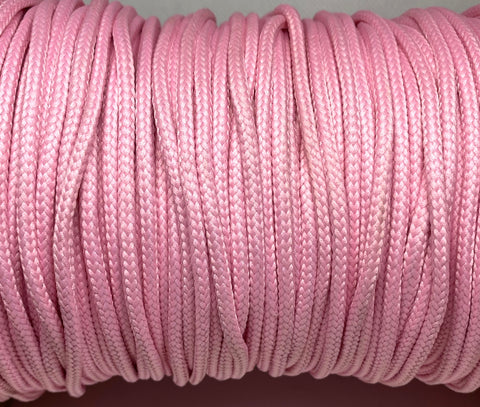 Pink Round Shoelaces