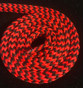 Red and Black Hybrid Shoelaces