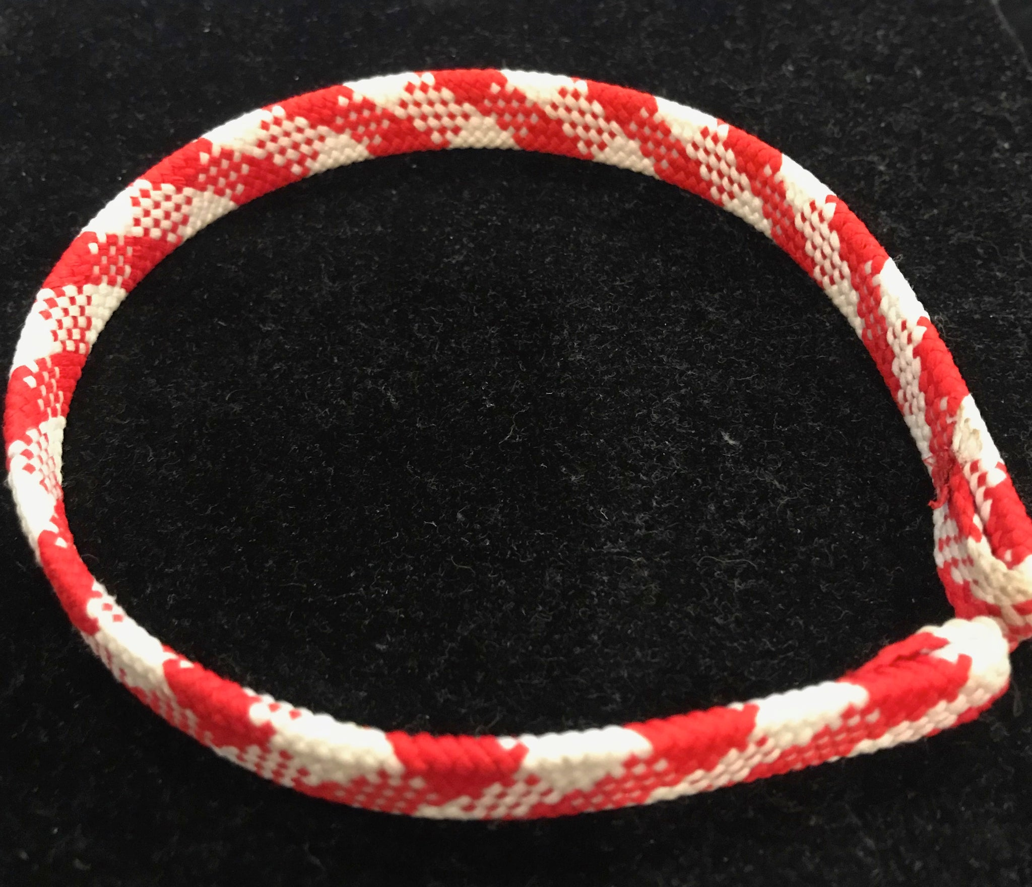 Red and White Plaid Headband