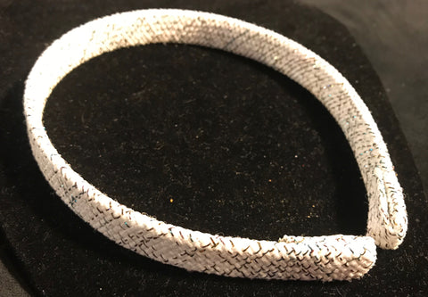 White Sparkle Headband