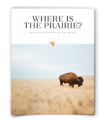 Where is the Prairie?
