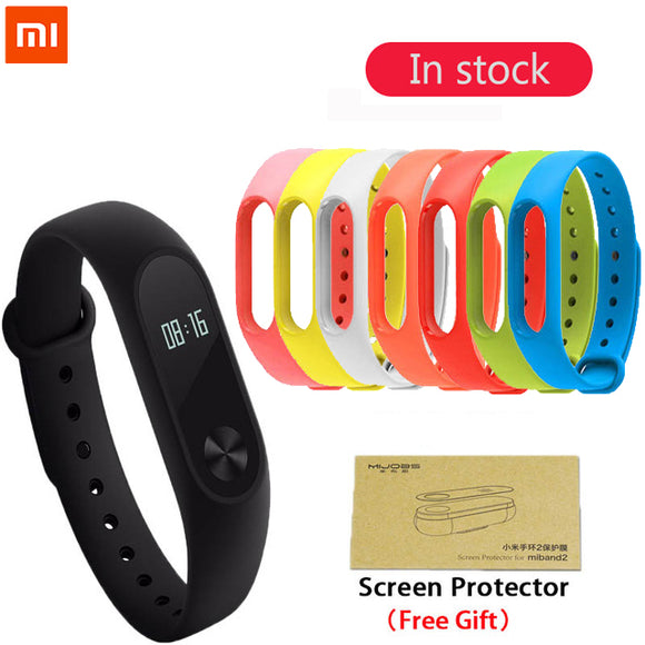 Original xiaomi mi band 2 Smart Fitness Bracelet Watch Wristband Miband OLED Touchpad Sleep Monitor Heart Rate Mi Band2