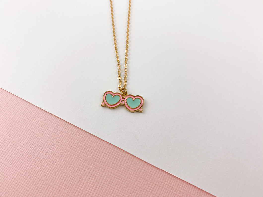 Heart Eyes Necklace