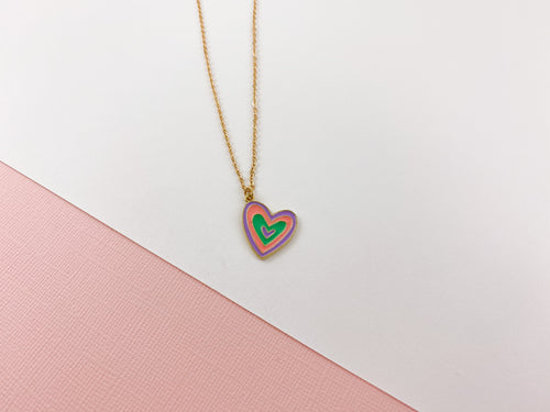 Joy Heart Necklace