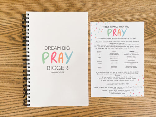 Children's Prayer Guide & Journal