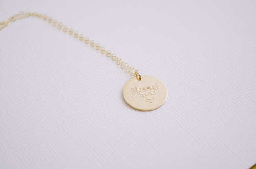 Blessed Mama Necklace