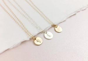 Love Letter Initial Necklace