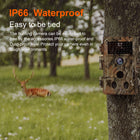 6-Pack Game Trail Hunters Hunting Deer Cameras 20MP Photo 1080P H.264 MP4 Video Motion Activated Waterproof with Night Vision No Glow
