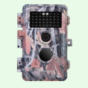 Trail Hunting Wildlife & Farm Field Tree Cameras Full HD 20MP 1080P H.264 Video Waterproof No Glow Motion Activated with Night Vision