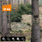 4-Pack Game & Trail Deer Cameras Farm Cams 20MP 1080P Waterproof Motion Activated Waterproof for Outdoor Wildlife Tracking and Home Security