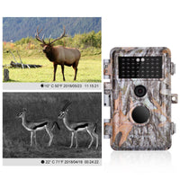 2-Pack Game Trail Cameras & Deer Hunting Cam 20MP 1080P H.264 MP4 Video with Night Vision Motion Activated Waterproof Photo and Video Model