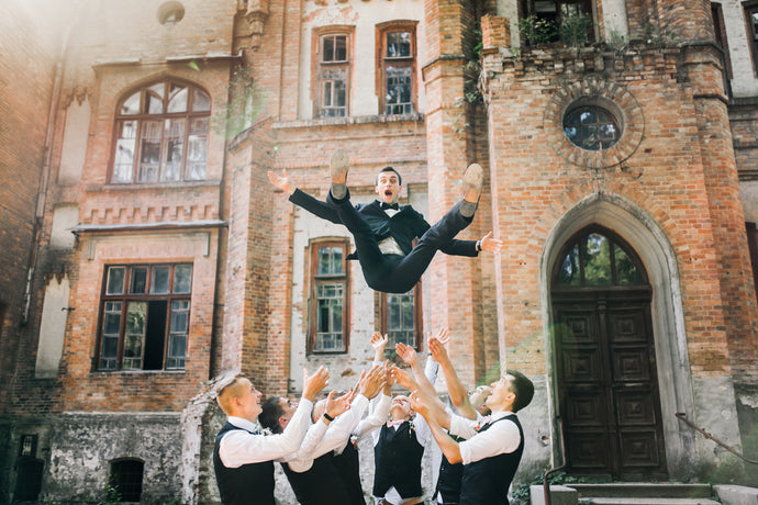 "What Is ""Guy Stuff?"" Groomsmen's Gifts for You – and Them"