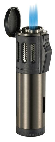 ARTEMIS TRIPLE FLAME TORCH LIGHTER - GUNMETAL