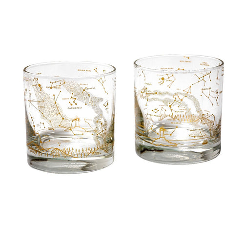 Star Chart Whiskey Glass